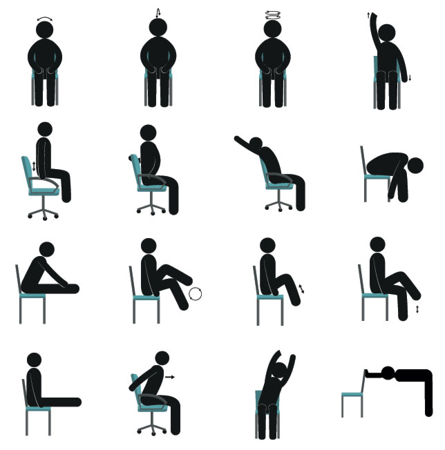 Simple Desk Yoga Poses That Won T Freak Out Your Coworkers New Worker Magazine