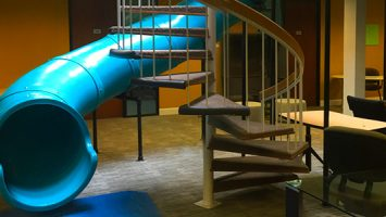tube-slide-office-design