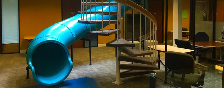 tube-slide-office-design